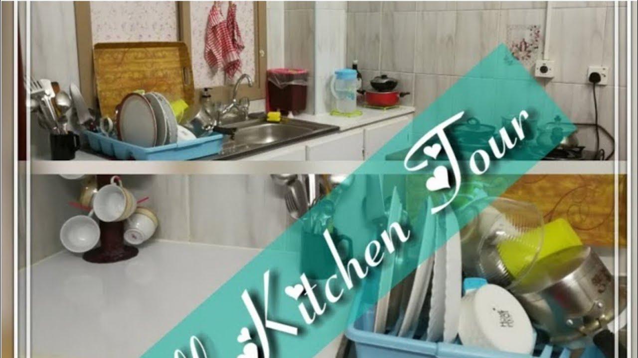 kitchen organization Ideas india || Small Indian Kitchen Tour ...