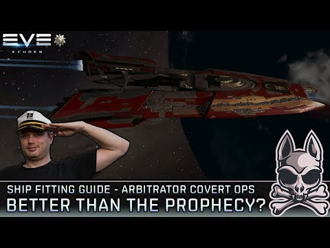 Is the ARBITRATOR COVERT OPS A Cheaper Prophecy?? || EVE Echoes