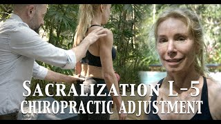 Chiropractic Adjustment for Sacralization L5 |  Dr Stavros Mihaletos