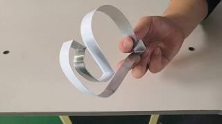CNC Metal Bending Machine for advertising charactor make