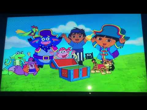 Opening To Dora The Explorer: It's A Party! 2005 DVD