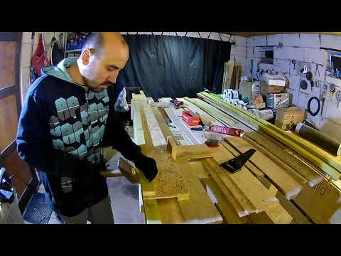 Двутавровая деревянная балка из досок своими руками
