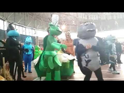 La comparsa 'Bichos' fue ganadora en los Carnavales de Monterroso