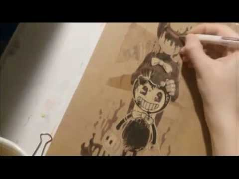 Bendy and The Ink Machine Ink Demon speedpaint