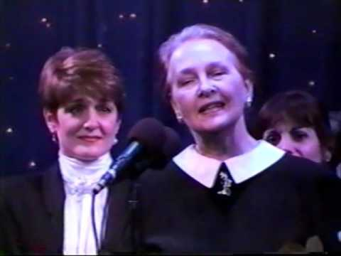 Anita Morris Tribute, cast of Nine, March 10, 1994