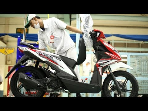 New Honda BeAT 2018, Ada 8 Pilihan Warna dan Striping