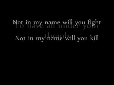 Sami Yusuf - Not In My Name.wmv