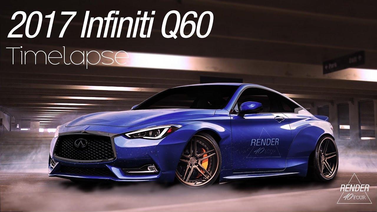 Infiniti Q60 Virtual Tuning Render40four