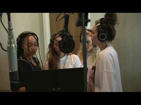 Little Mix Recording In The Studio Throughout The Years