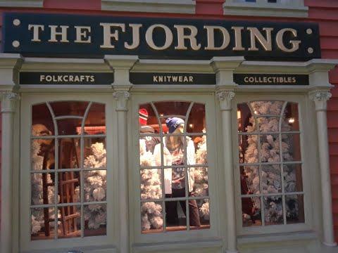 The Fjording Store Tour Norway Pavilion Epcot Disney