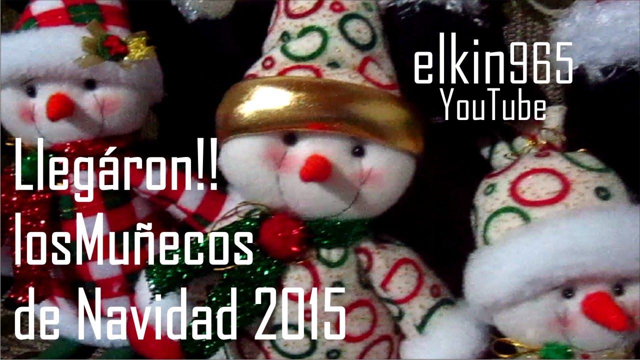 Mu ecos de navidad 2015 servicios youtube - Munecos de navidad ...