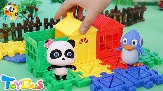 키키묘묘랑 집을 짓기 놀이 리자몽 왔어요!무서워요 대단한 세탁기 장난감이야기 모음 토이버스 Kids Toys   Baby Doll Play   ToyBus