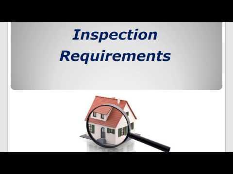 BPI BA vs. BPI-1200 - Lesson #7 - Inspection Requirements