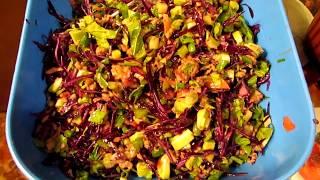 Очень вкусный и полезный салат из авокадо и тунца !Very tasty and healthy salad of avocado and tuna
