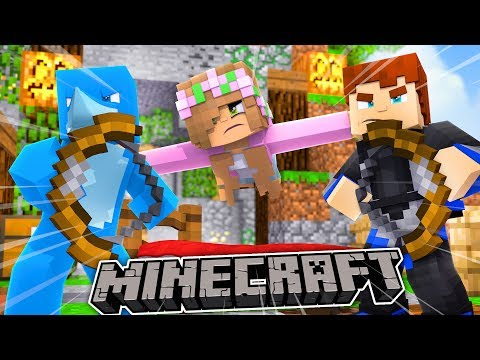 LITTLE KELLY SAVES HER FRIENDS LIVES! Minecraft BedWars