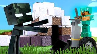 Видео игры с Майнкрафт Лего - Как Стиву перехитрить Эндермена? - Майнкрафт видео сборник.