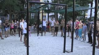 Соревнования по workout в Краснодарсом крае(Адлер)
