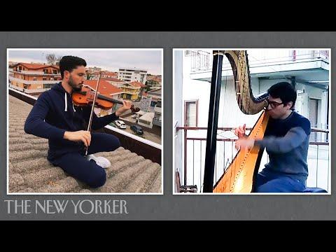 The Italians Making Music on Balconies Under Coronavirus Quarantine | The New Yorker