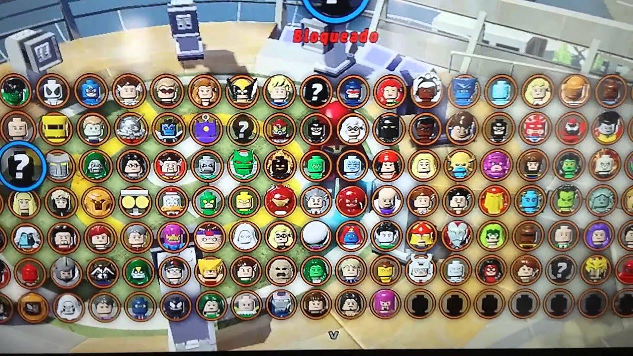 marvel lego xbox 360 codigos