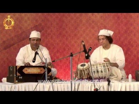 Ustad Zakir Hussain (Tabla) during 4th Satguru Jagjit Singh Sangeet Sammellan 21-22 Nov 2015