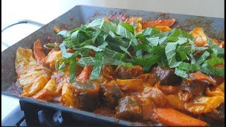 figcaption 순대볶음 만들기 : Stir-fried Korean Sausage [우미스쿠킹 : 그녀의요리]