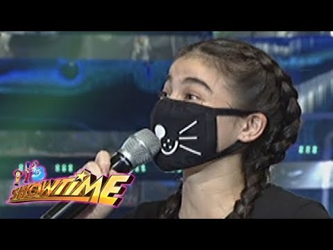 It's Showtime Cash-Ya: What's on Anne Curtis' mask?