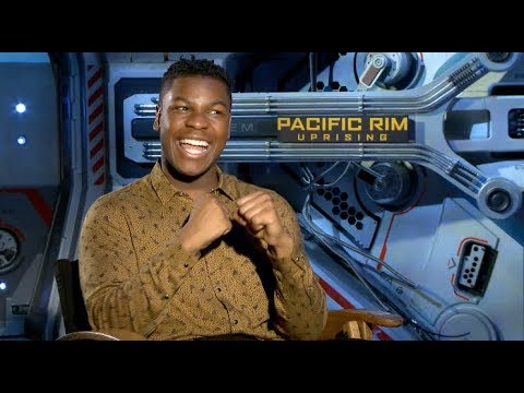 PACIFIC RIM: UPRISING interviews - John Boyega, Scott Eastwood, Cailee Spaeny, Charlie Day, Gorman