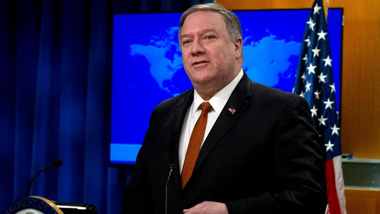 Live: Secretary Pompeo holds a press briefing at the State Department - FOX Business