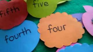 Grade 1 Math Arithmetic Food Theme Categorize Cardinal And Ordinal Numbers Game