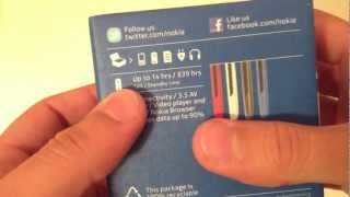 Nokia 112 Unboxing Video