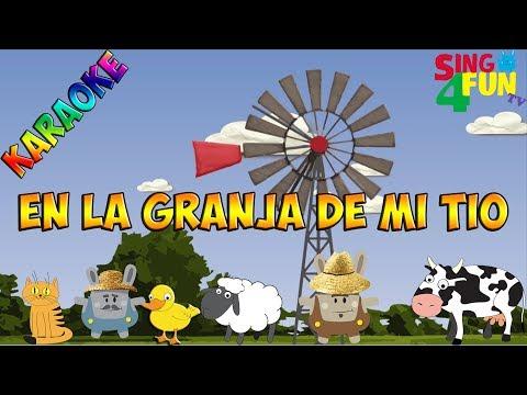Sing4FunTv | En la granja de mi tío | Karaoke