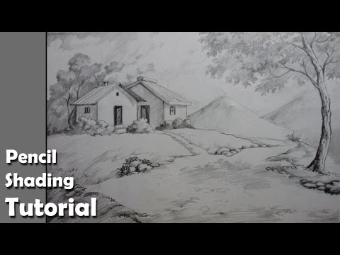 How to Draw a Village Landscape with Pencil |  Epi-4