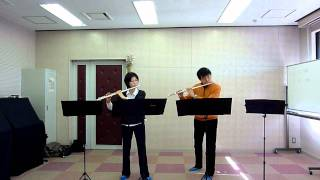J.L.Tulou, Easy Duet for Flutes No.1-1mov. Op.102