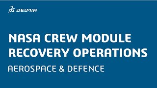 NASA Crew Module Recovery Operations