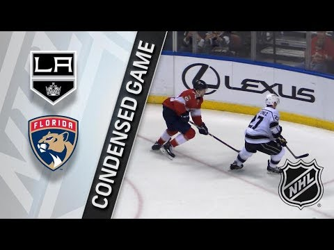 Los Angeles Kings vs Florida Panthers – Feb. 09, 2018 | Game Highlights | NHL 2017/18. Обзор