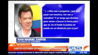 Juan Manuel Santos dice que las FARC nunca habían estado tan comprometidas con la paz en Colombia