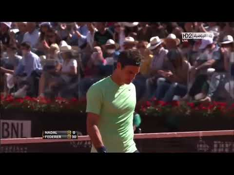 Roger Federer - best points vs Nadal | Rome 2013 Final ...
