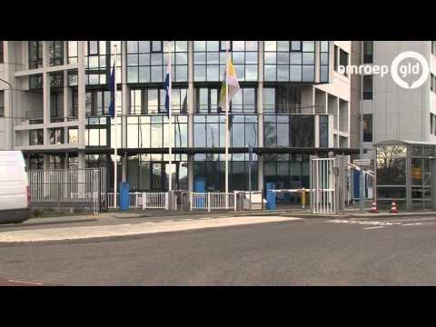 Grote poortactie bij chipfabriek NXP Semiconductors in Nijmegen