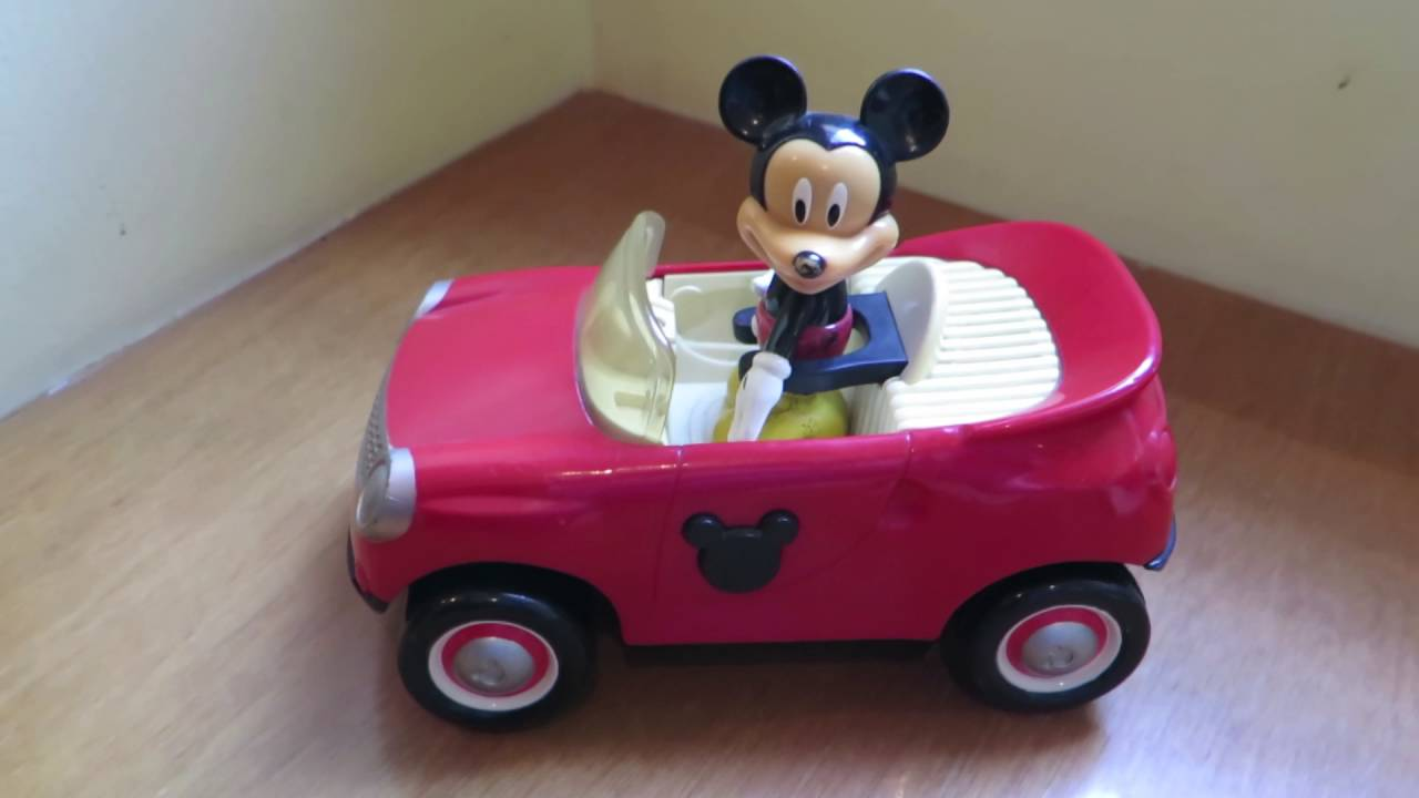 Carro De Mickey Mouse Juguete Usado Youtube