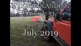 """Weekendlanding"" trip July 2019"