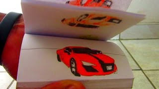 The Fast and Furious FLIPBOOK ANIMATION (film tribute)