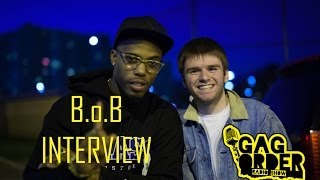 B.o.B INTERVIEW (TALKS ABOUT JOHN DOE, MEETING KANYE, NO GENRE 2)