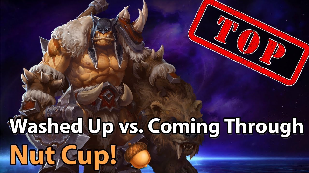 ► Heroes of the Storm: Coming Through vs. Washed Up - Nut Cup