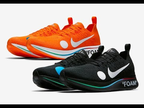 OFF WHITE x NIKE Zoom Fly Mercurial Flyknit Black   Orange Shoes Drops    Prices! 6 14 18 66973f25d