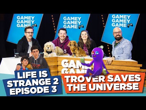 Trover Saves the Universe! Life Is Strange 2 Episode 3! | Gamey Gamey Game