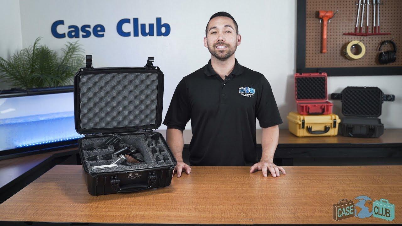 Case Club 3 Pistol Case - Overview - Video