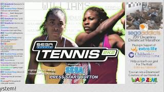 2017 Dreamless Dreamcast Marathon - Hour 18 - Sega Sports Tennis 2K2