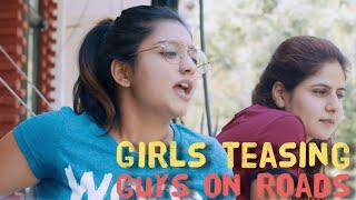 Delhi Girls Behaving Like Delhi Guys On Roads - ODF