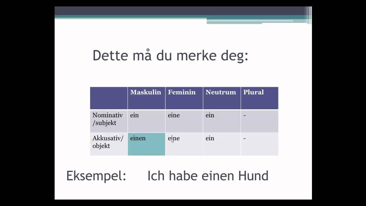 tysk regler