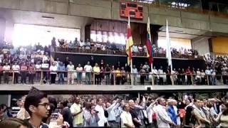 En Sesión Especial AN se guardó minuto silencio por Juan Pernalete y se entonó el Himno Nacional